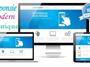 Create, Design and Develop Responsive Modern Website