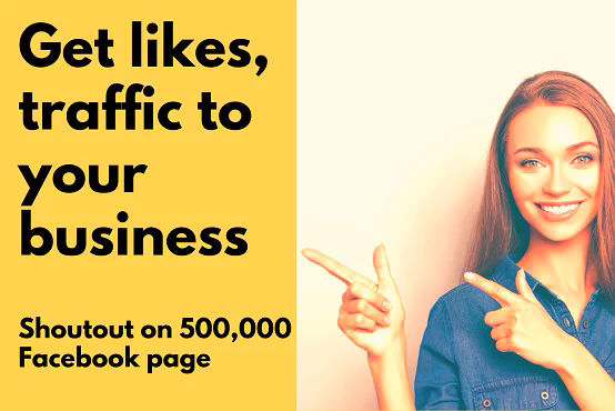 Social Media Marketing Promote your business to 500,000 people on Facebook