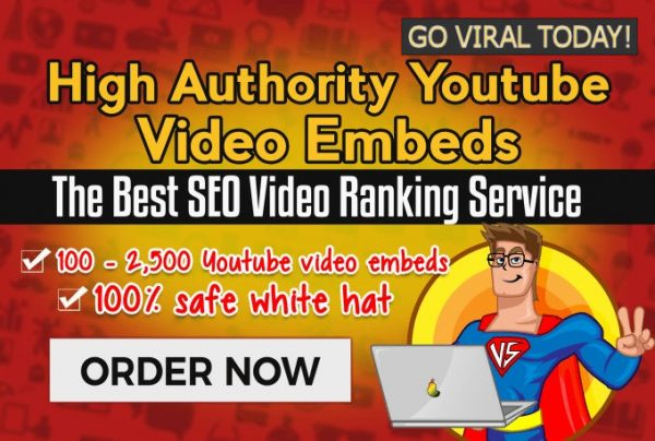 Social Media Marketing Embed your Youtube Video in Top Web2 Websites with the Best SEO Video Ranking