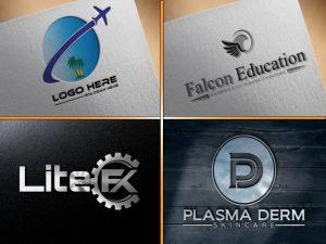 Unique Business Logo Design (5 minimalist)